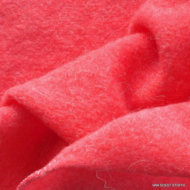 Wollflausch in tollem Pink