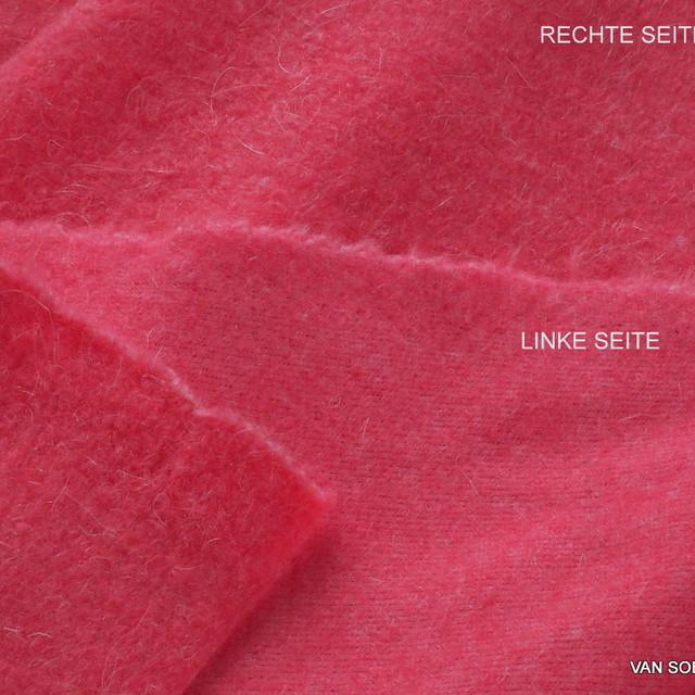 Wollflausch in tollem Pink | Ansicht: Wollflausch in tollem Pink