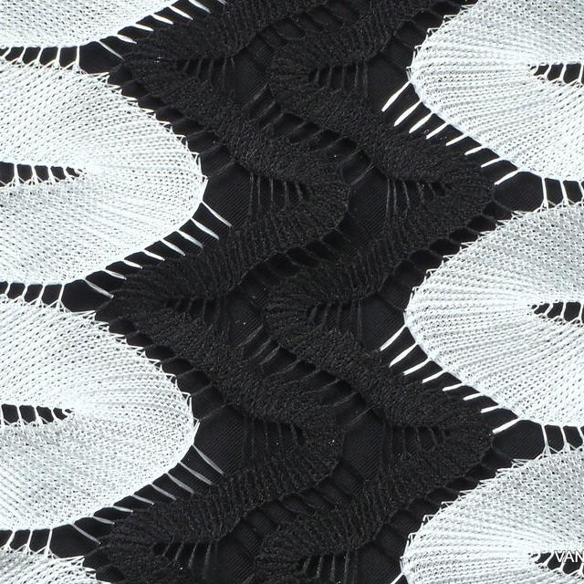 Zacken in Schwarz - Weiß | Ansicht: Zacken in Schwarz - Weiß