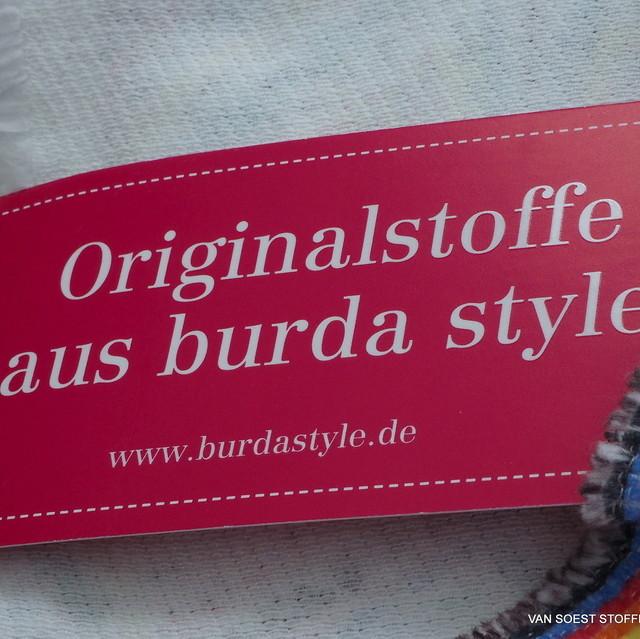 burda style - Baumwoll Soft Pique Inkjet Print