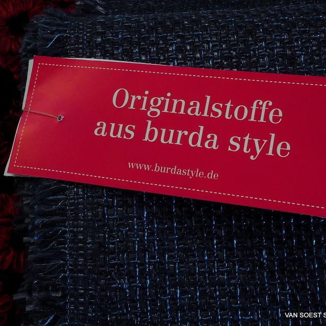 burda style - Raffia Imitat in Dunkelblau