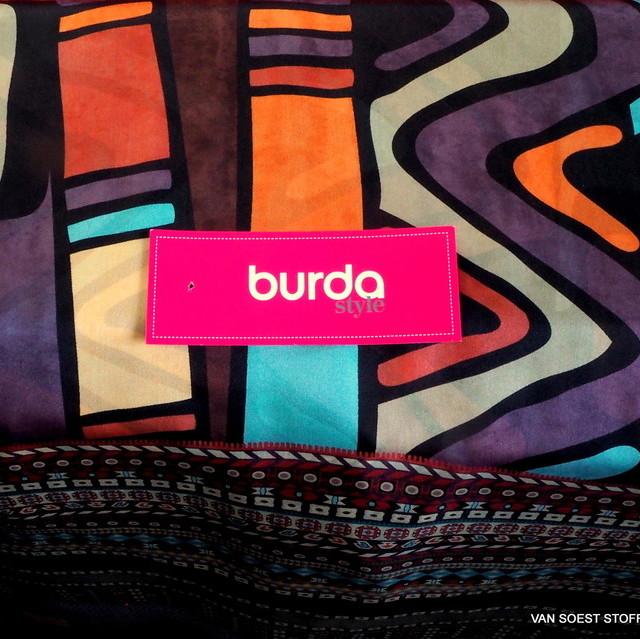 burda style rein seidenes exklusives Grafik Design | Ansicht: burda style rein seidenes exklusives Graphik Design