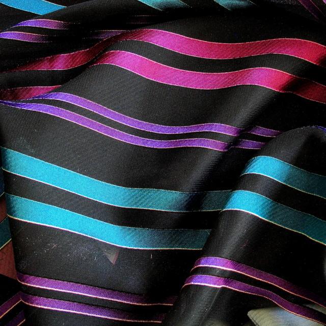 Chiffon Multi Streifen
