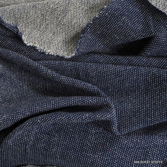 Denim Stretch French Terry