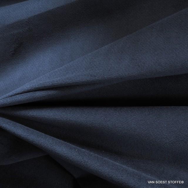 dunkel blauer Baumwollsamt mit Stretchanteil   Ansicht: dunkel blauer Baumwollsamt mit Stretchanteil