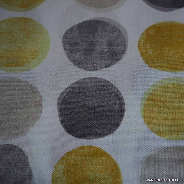 Hochfarbiger Deko Druck auf 100% Bio Baumwolle