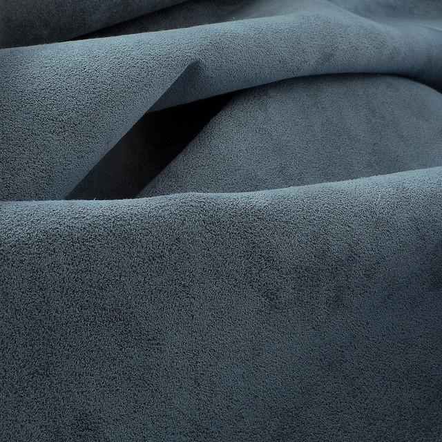 hochwertiger Micropolyamid Alcantara ähnlich in Tauben Blau | Ansicht: hochwertiger Micropolyamid Alcantara ähnlich in Tauben Blau