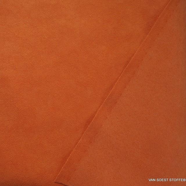 hochwertiger Micropolyamid Alcantara ähnlich in saftigem Orange | Ansicht: hochwertiger Micropolyamide Alcantara ähnlich in saftigem Orange