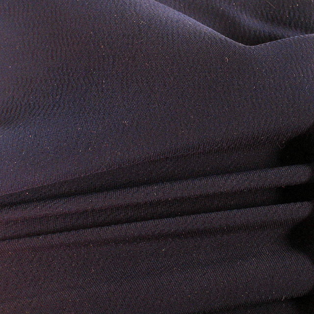 Luxus Rolva = Stretch Tencel® in dunkel Navy