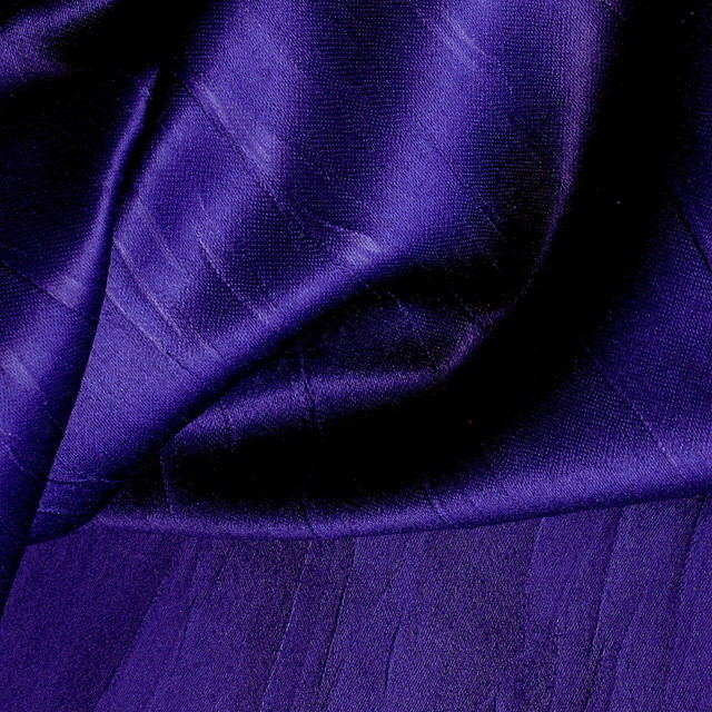 Royal Satin Plissée