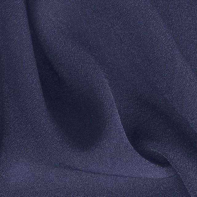 Schwere Crepe de Chine Taubenblau