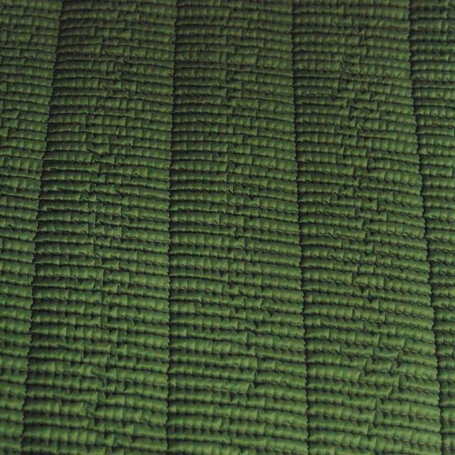 Steppware plissiert + Stretch in Lodengrün