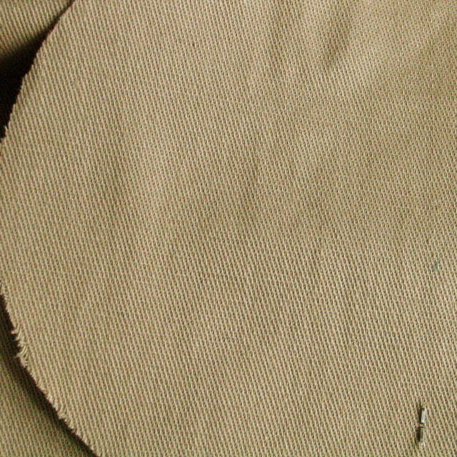 Stretch Safari Gabardine Baumwolle Leinen in Sand