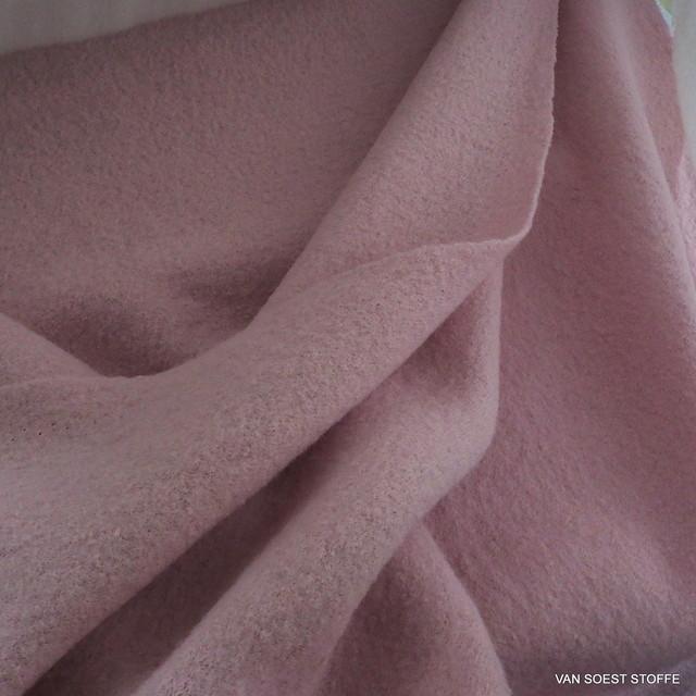 Walk - Kochwolle - boiled wool in Rosa