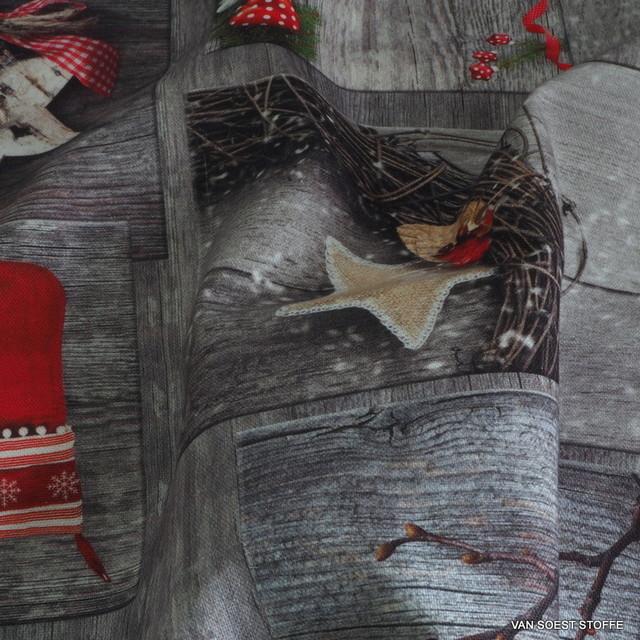 Weihnachts Stoffe Deko Stoffe