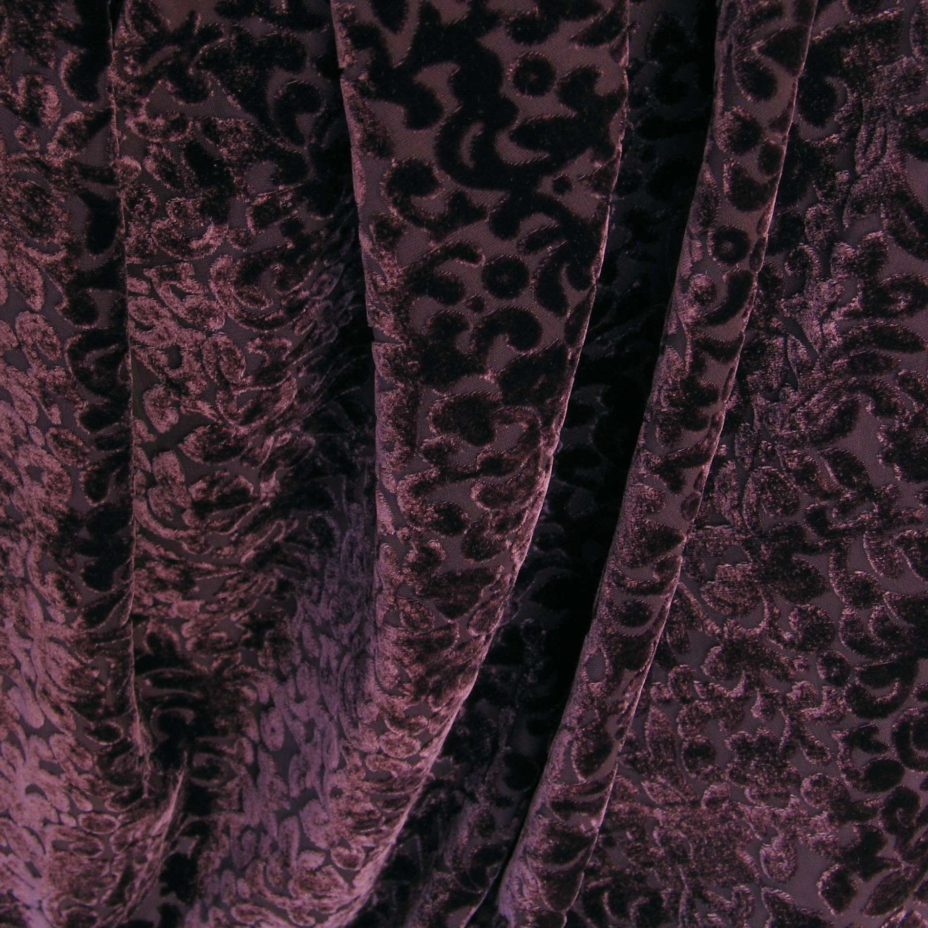 0277 seiden samt ausbrenner beere gemusterte stoffe stoffe mit fantasiemuster. Black Bedroom Furniture Sets. Home Design Ideas