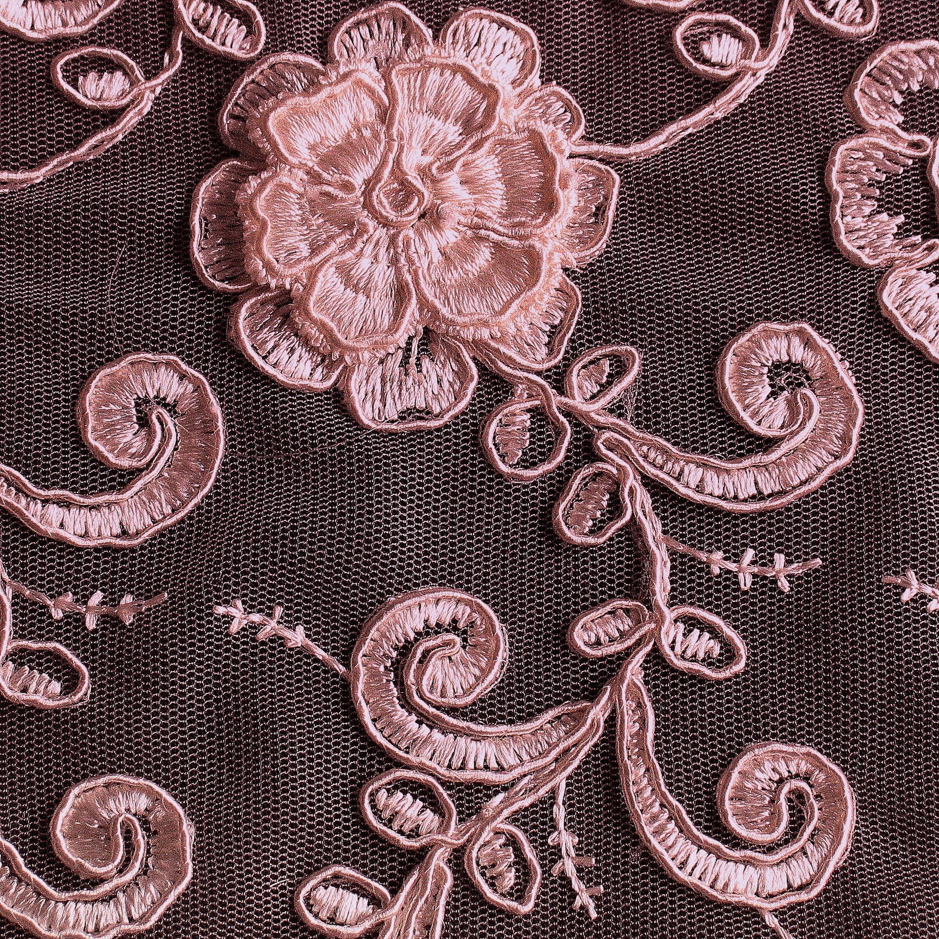 3d couture stoff spitze in ros bestickte spitzen pailletten bestickte spitze. Black Bedroom Furniture Sets. Home Design Ideas