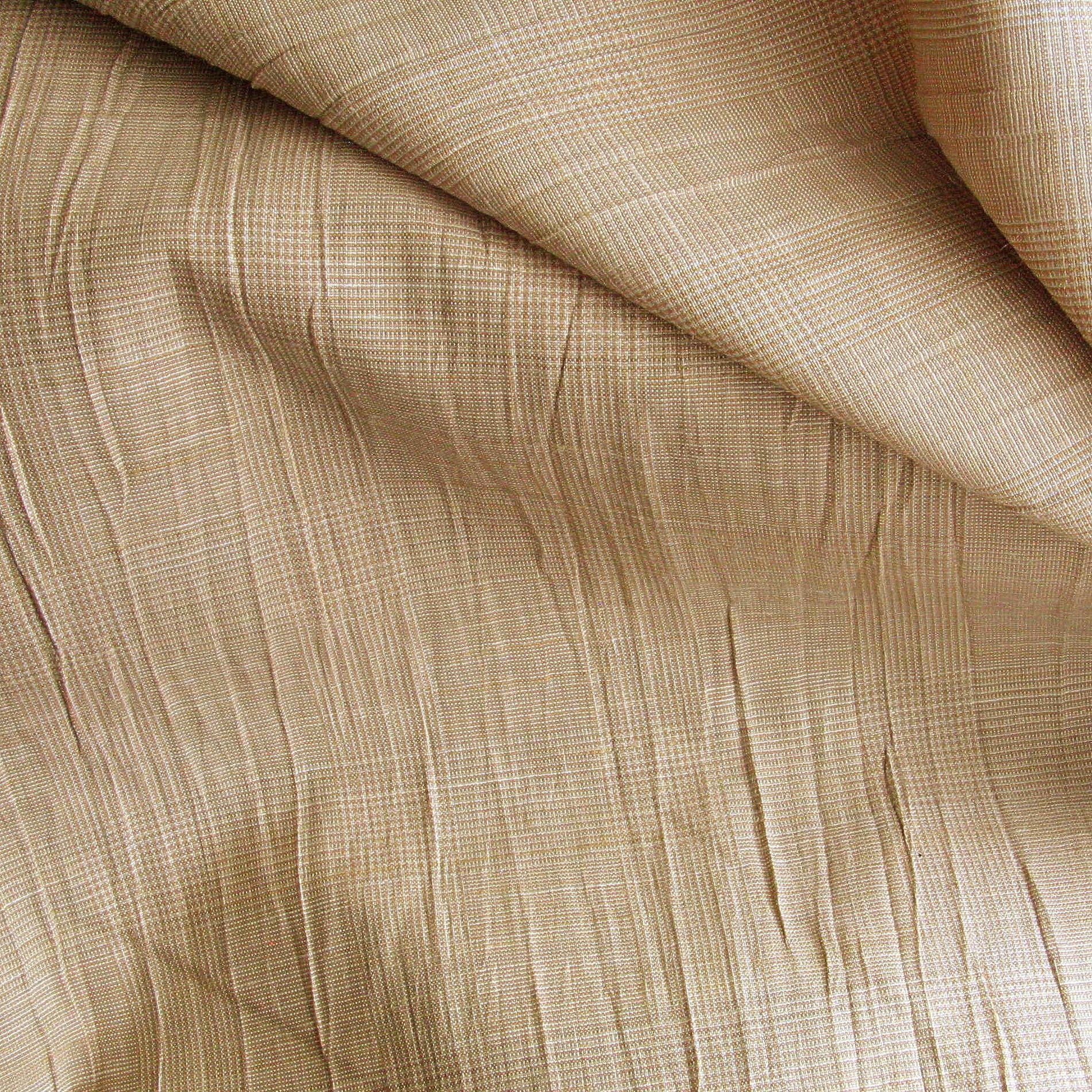 crash leinen prince de galles sand gemusterte stoffe stoffe mit karomuster. Black Bedroom Furniture Sets. Home Design Ideas
