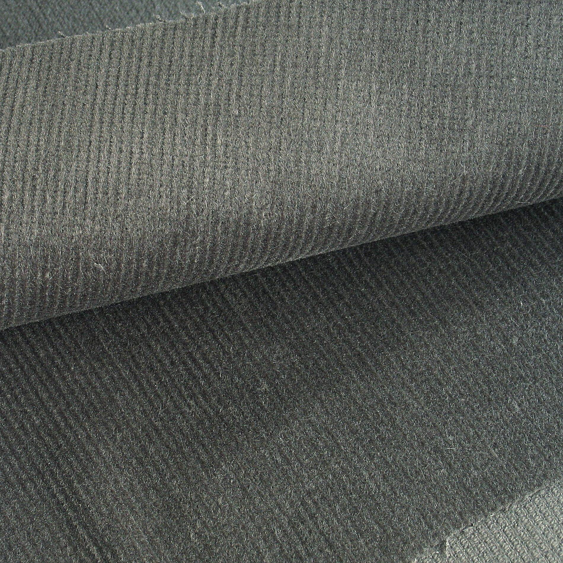 feincord in grau uni stoffe graue stoffe. Black Bedroom Furniture Sets. Home Design Ideas