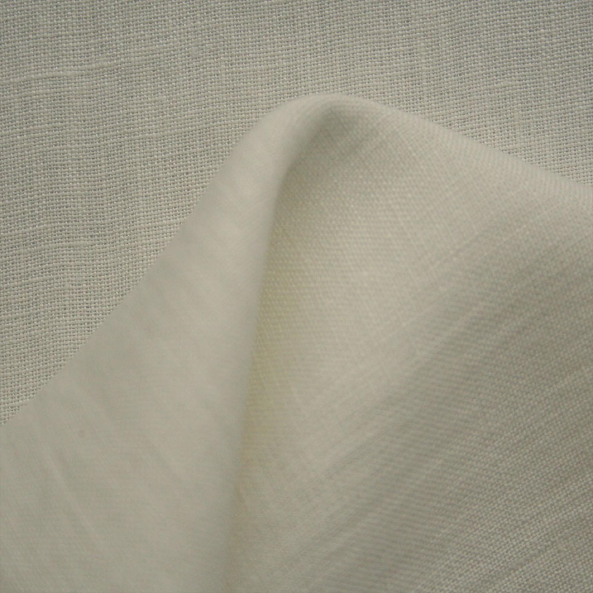 feines 100 leinen uni stoffe wei creme. Black Bedroom Furniture Sets. Home Design Ideas